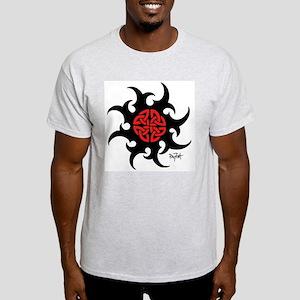 Mystic River Swirling Sun Light T-Shirt