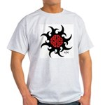Mystic River Swirling Sun Light T-Shirt