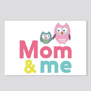 My mom and me Mothersday Postcards (Package of 8)