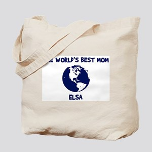 ELSA - Worlds Best Mom Tote Bag