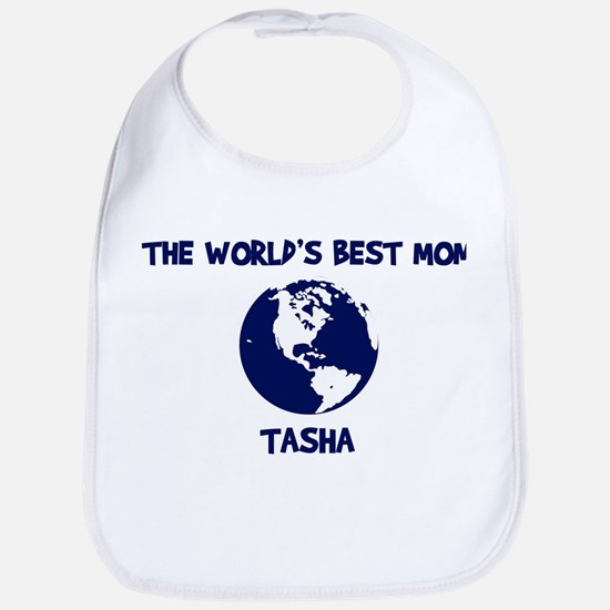 TASHA - Worlds Best Mom Bib