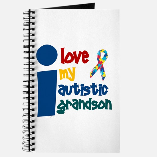 I Love My Autistic Grandson 1 Journal