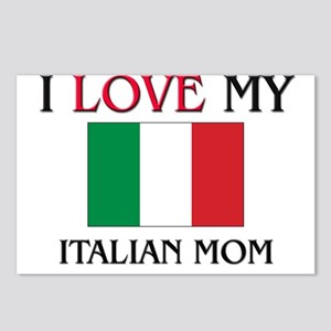 I Love My Italian Mom Postcards (Package of 8)