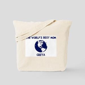 GRETA - Worlds Best Mom Tote Bag