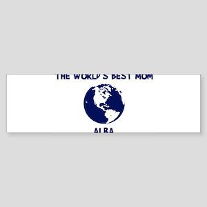 ALBA - Worlds Best Mom Bumper Sticker