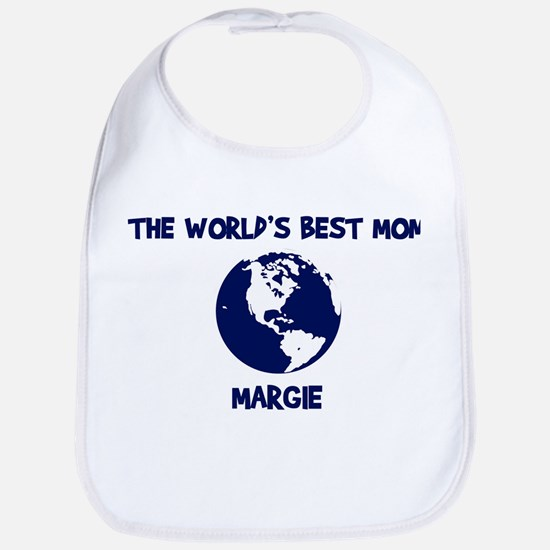 MARGIE - Worlds Best Mom Bib