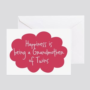 Grandparents day greeting cards cafepress grandmother of twins blank greeting card m4hsunfo