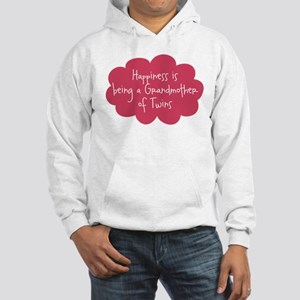 Grandmother of Twins Hooded Sweatshirt