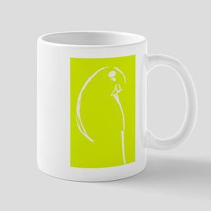 Yellow Budgie Mug