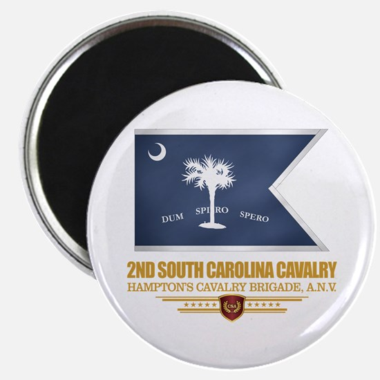 2nd South Carolina Cavalry Magnets
