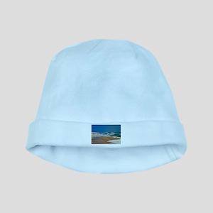 Cape Hatteras Ocean Blur Baby Hat