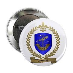 ANTOINE Family Crest Button