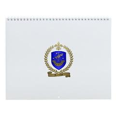 ANTOINE Family Crest Wall Calendar