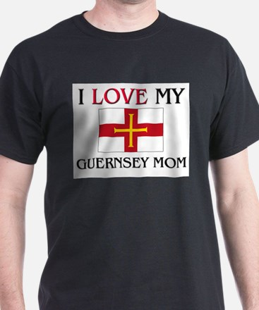 I Love My Guernsey Mom T-Shirt