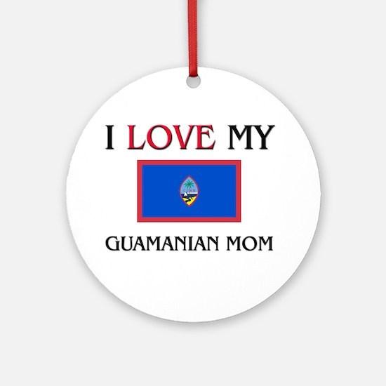 uamanian Mom Ornament (Round)