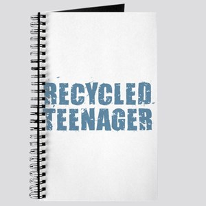 Recycled Teenager - Blue Journal