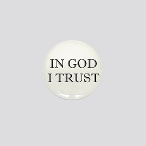 In God I Trust Mini Button