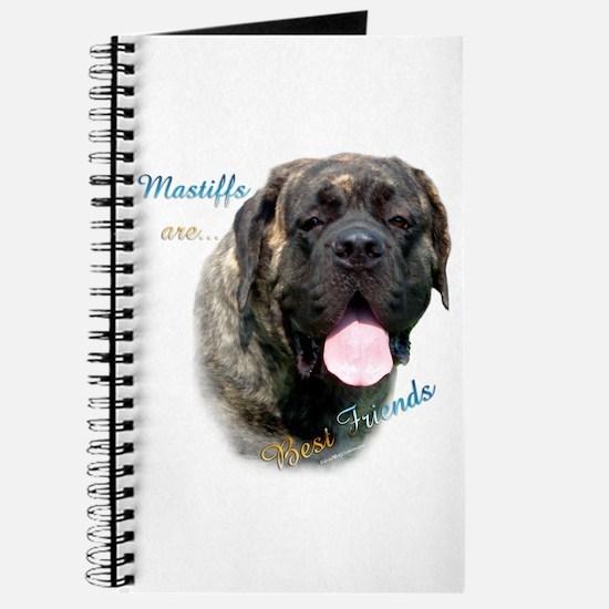 Mastiff Friend Brindle Journal