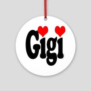 I love Gigi Ornament (Round)