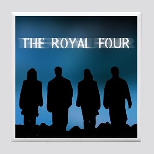 The Royal Four 2 Tile Coaster