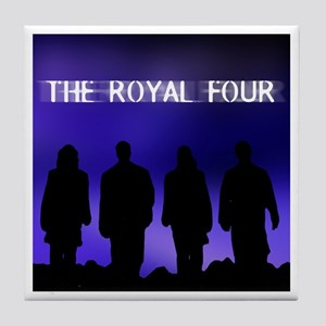 The Royal Four 3 Tile Coaster