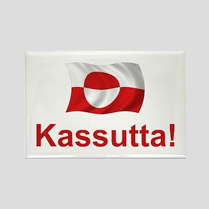Greenland Kassutta Rectangle Magnet