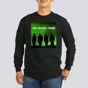 The Royal Four 6 Long Sleeve Dark T-Shirt