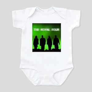 The Royal Four 6 Infant Bodysuit
