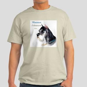 Mini Schnauzer Best Friend 1 Light T-Shirt