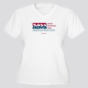 AAVS (Women's Plus Size V-Neck T-Shirt)