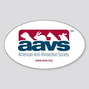 AAVS (Oval Sticker)