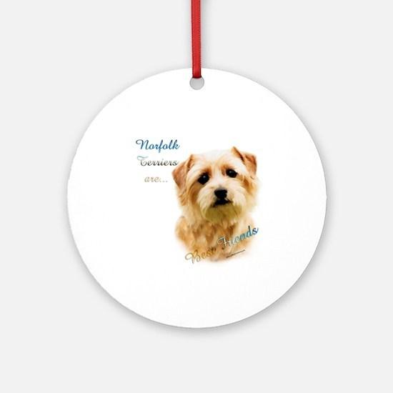 Norfolk Best Friend 1 Ornament (Round)