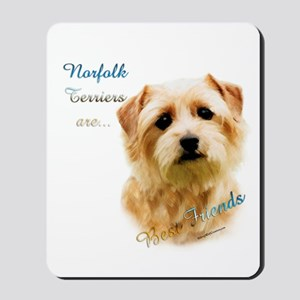 Norfolk Best Friend 1 Mousepad