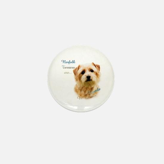 Norfolk Best Friend 1 Mini Button