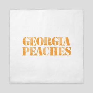 Georgia Peaches Queen Duvet
