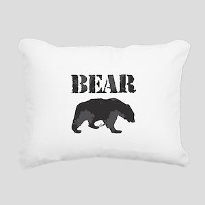 Bear Rectangular Canvas Pillow