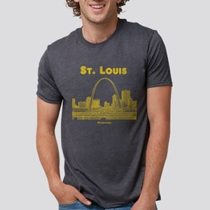StLouis_10x10_Downtown_Yellow T-Shirt