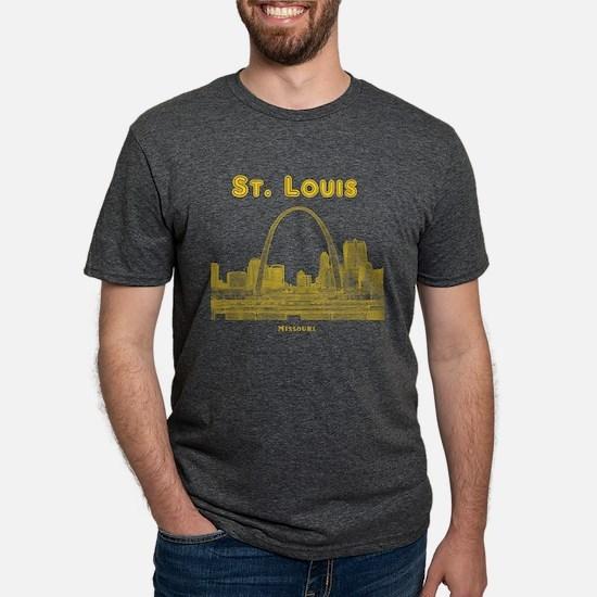 StLouis_10x10_Downtown_Yellow T-Shirt