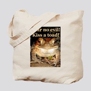 Kiss a toad Tote Bag