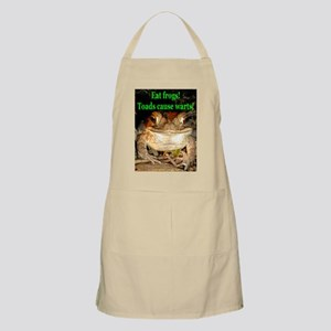 Eat frogs BBQ Apron