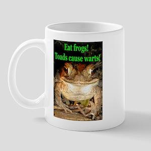 Eat frogs Mug