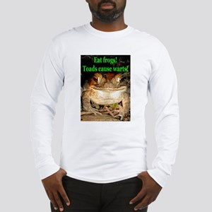 Eat frogs Long Sleeve T-Shirt