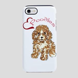 Love Poodles iPhone 8/7 Tough Case