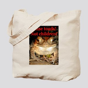 Raise toads Tote Bag