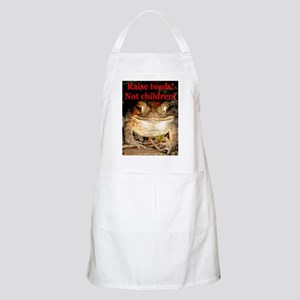 Raise toads BBQ Apron