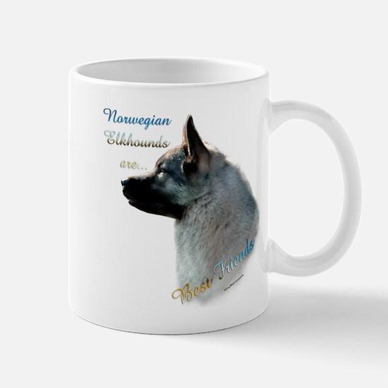 Elkhound Best Friend 1 Mug