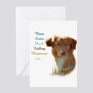 Toller Best Friend 1 Greeting Card
