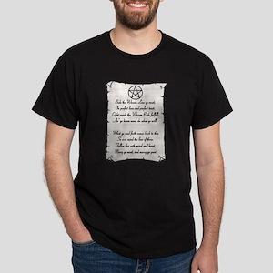 Wiccan Reade Dark T-Shirt
