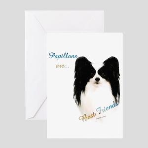 Papillon Best Friend 1 Greeting Card