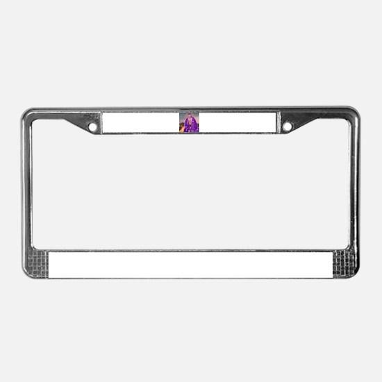 Saint Lazarus License Plate Frame